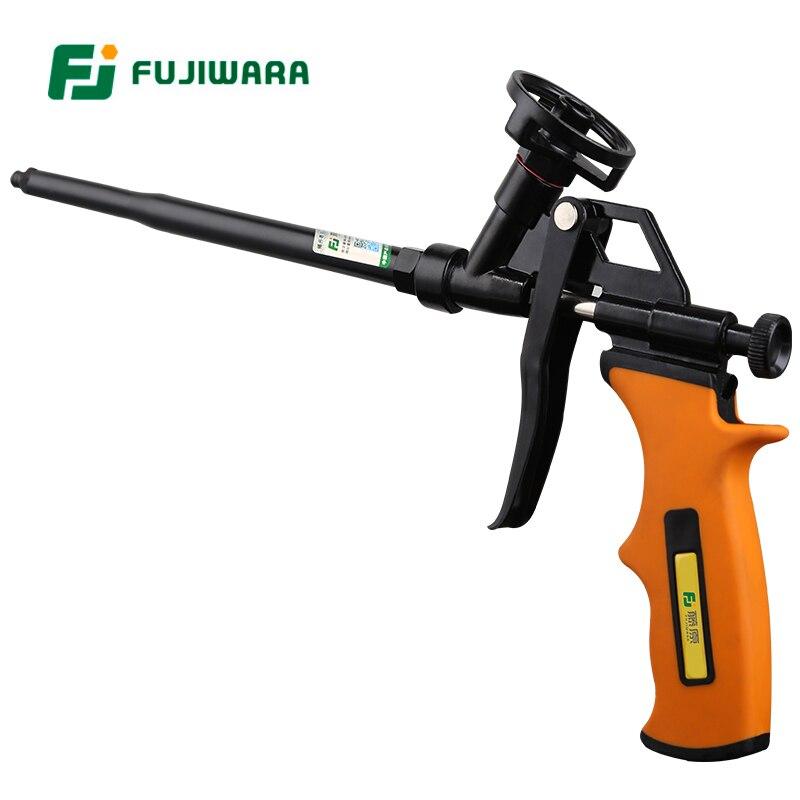FUJIWARA Fluor Metallschaumpistole Schaumgummi Füllmittel Polyurethanschaum Dicht Füllstoff Spritzpistole
