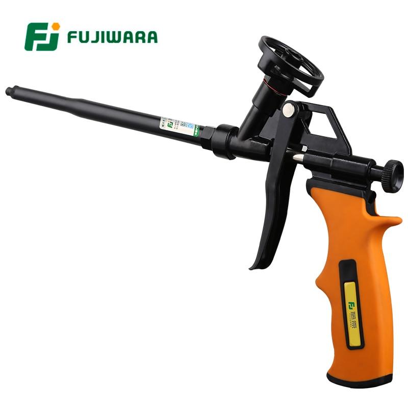 FUJIWARA Fluorocarbon Metal Foam Gun Foam Rubber Filling Agent Polyurethane Foam Sealing Filler Spray Gun