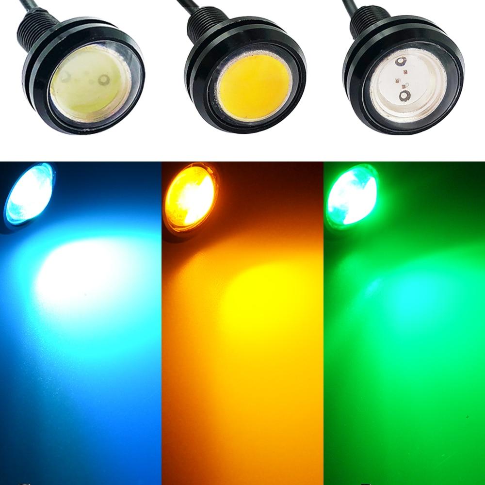 ALI shop ...  ... 32819370863 ... 4 ... Waterproof 18mm/23mm Black/Sliver Shell 12V Led Light Daytime Running Drl Eagle Eye Source Backup Reversing Parking Signal Lamp ...