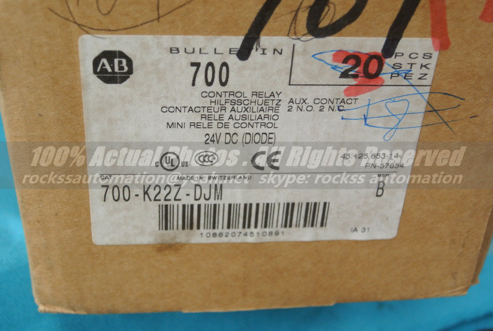 Brand New 700-K22Z-DJM Ser B With Free DHL / EMS brand new spare parts 20 750 2262c 2r with free dhl ems