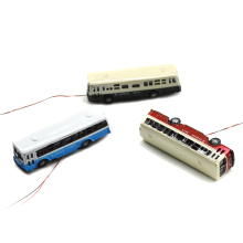 1/150 scale model bus Toy Metal Alloy Diecast bus Model Miniature Scale model for train layout scenery