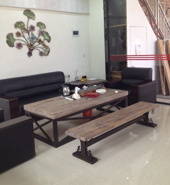 American Sofa Table Coffee Leisure Furniture Wood Wrought Iron Benches And Chairs Brunei