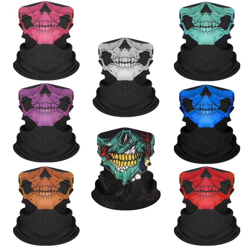 Headware Face Snood tube Guy Fawkes Anonymous Balaclava Neck Gaiter UV Scarf 1PC