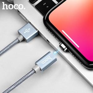 Image 5 - HOCO Từ Tính Loại C Sạc Nhanh USB Loại C USB C Sạc Dữ Liệu Nam Châm Dành Cho Xiaomi Huawei LG điện Thoại Di Động Dây Cáp 1M
