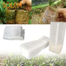 100 шт./пакет кассеты для рассады мешки для растений сумка садовая поставка 3 размера гаджет