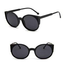 UCOOL Fashion Cat's Eye Mirror Sunglasses Retro Beauty Oversized Female Big Frame Sunglasses Super Bright Colorful Sunglasses