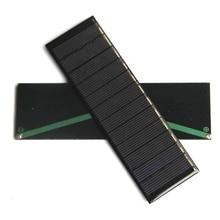 High Quality 0.6W 6V Solar Panel Mini Solar Cell DIY Solar Charger/Toys Education Kits 143.5*43.5MM Epoxy 10PCS Free Shipping