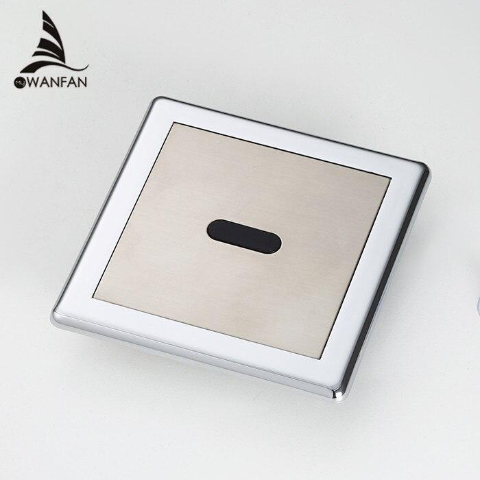 Сенсор писсуар Латунь Бесконтактный гигиенические экономии воды электронных flusher мочи Отель Автоматическая Индуктивный туалета Клапан 8304