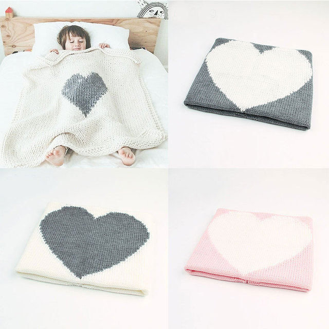 9518511a784b Newborn baby blanket baby knitted blanket birth swaddle wrap knitted ...