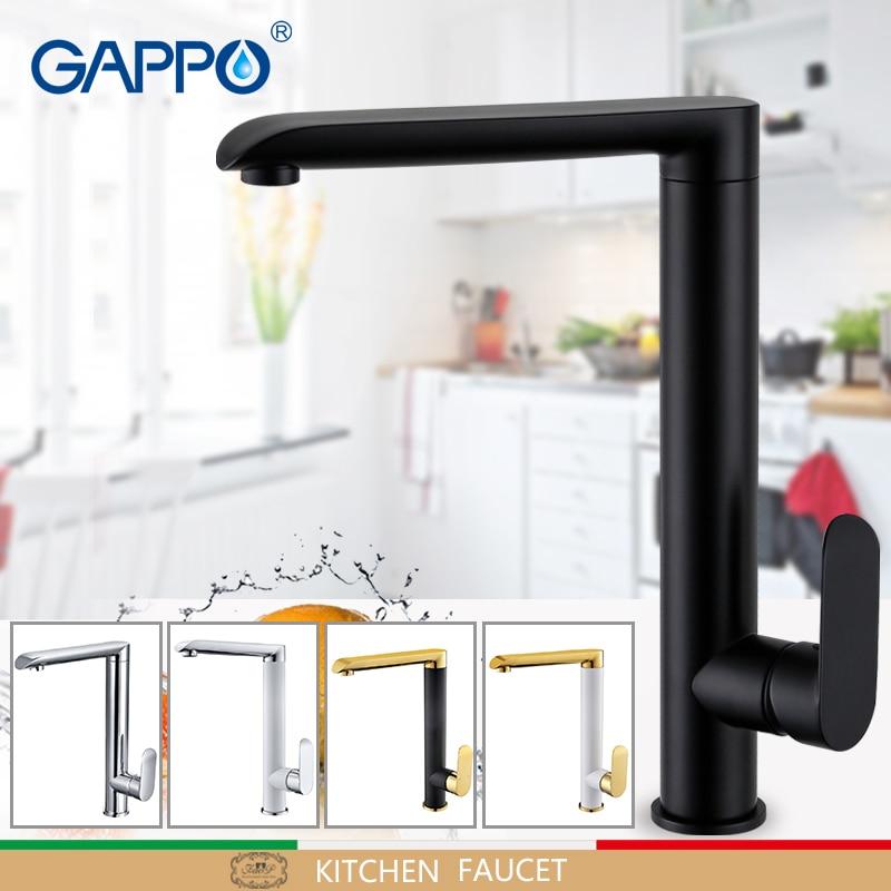 цены на GAPPO kitchen faucet mixer kitchen sink faucet water mixers torneira Brass kitchen faucet mixer torneira de cozinha в интернет-магазинах