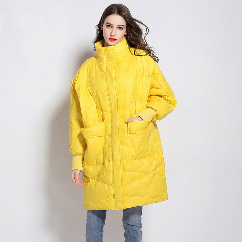 90% White Duck   Down   Jacket Women 2019 Warm Thick Long Winter   Coat   Women Female Puffer Jacket Waterproof Snow Outwear