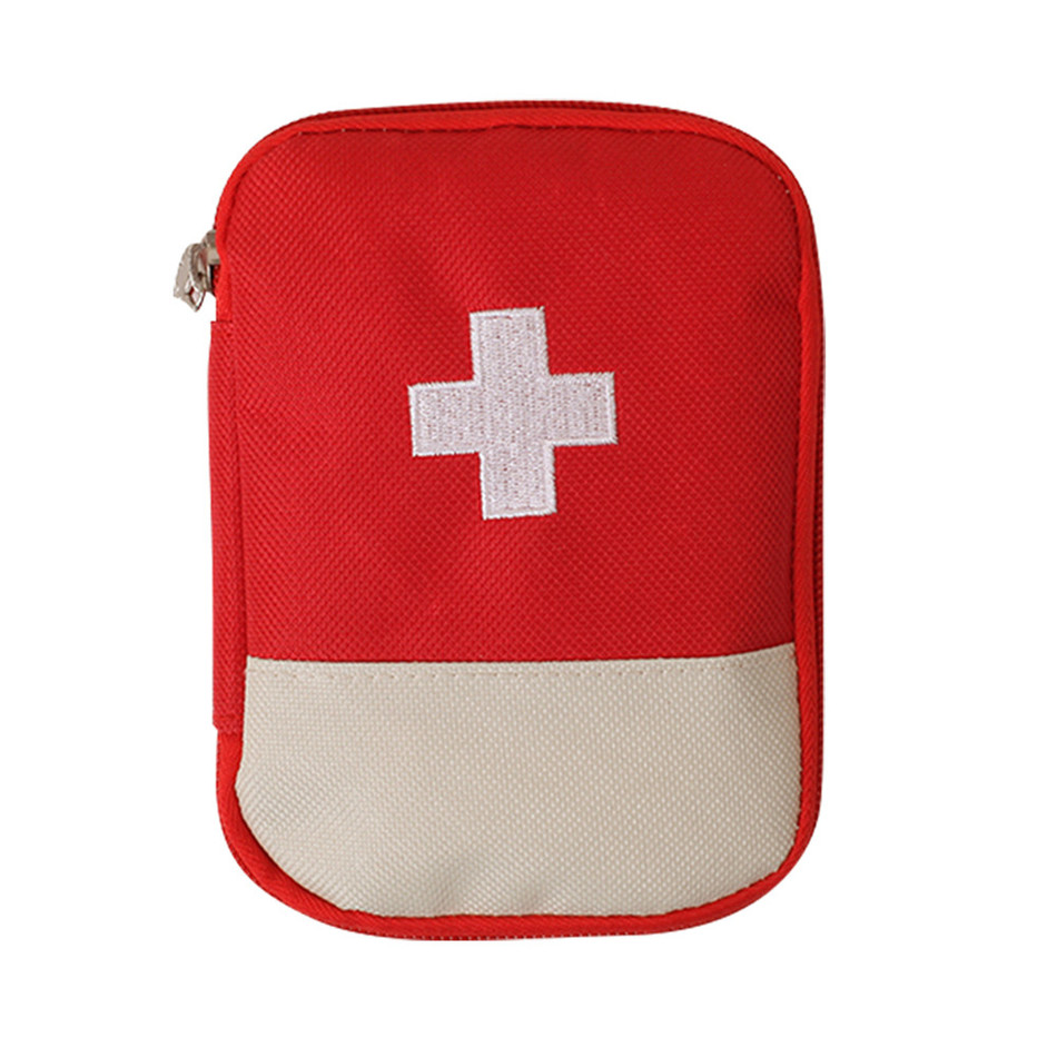 New Mini Portable First Aid Kit Bag Medicine Pouch Home
