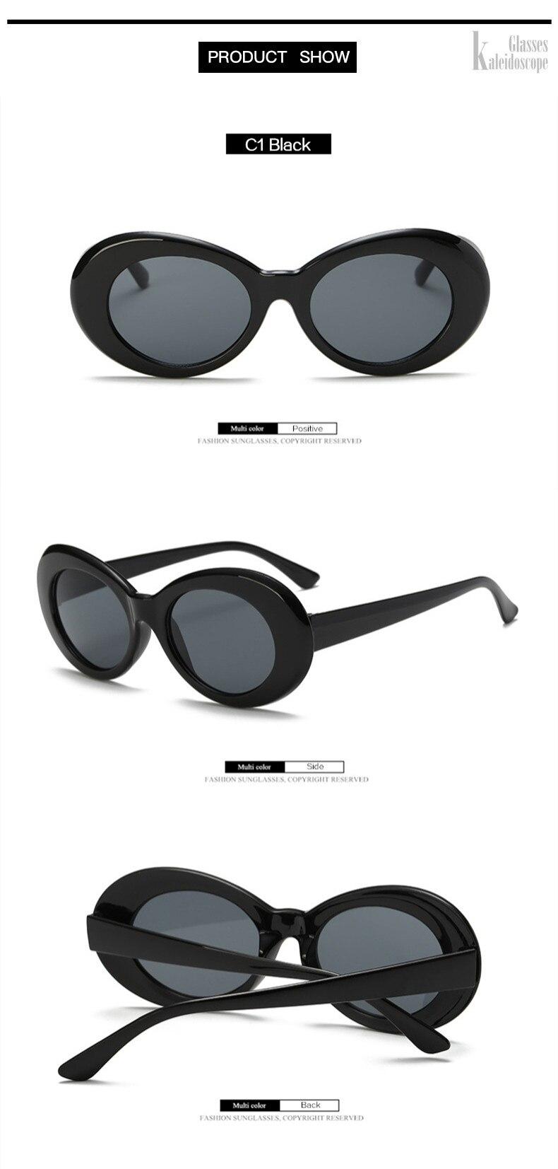 e3d91b83f0 ... Kaleidoscope Glasses Clout Goggles Sunglasses Kurt Cobain Eyeglasses  Women Brand Designer Sunglass Men Retro Round Sun ...