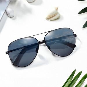 Image 2 - Oryginalny Xiaomi Mijia Turok Steinhardt TS marka spolaryzowane soczewki ze słońcem lustro okulary UV400 na zewnątrz podróży mężczyzna kobieta