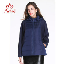 Astrid Nieuwe Vrouwen Jas Jas Plus Size Vrouwen Winter Jassen Vrouw Mode Jas Warm Leisure Big Size winter jassen AM -2221(China)