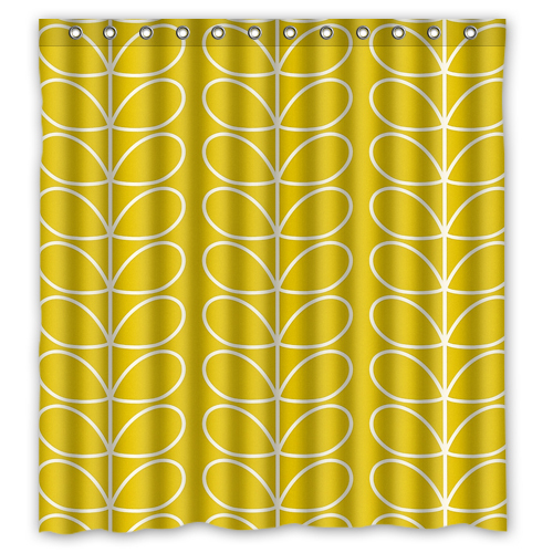 Ant Orla Kiely Custom Shower Curtain 66 X72 Waterproof Fabric For Bathroom