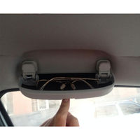 Car SunGlasses Clip Case Visor Glasses Holder Box Container box  Fit For AUDI A1 A3 A4 A5 A6 Q3 Q5 2012 2016|sunglasses case holder|box for car|audi holder -