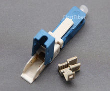 50/100pcs SC APC/UPC fast connector KPYSC250P-CE SC adapter SC Quick Cold Connector FTTH SC Single Mode UPC Fast Connector(China)