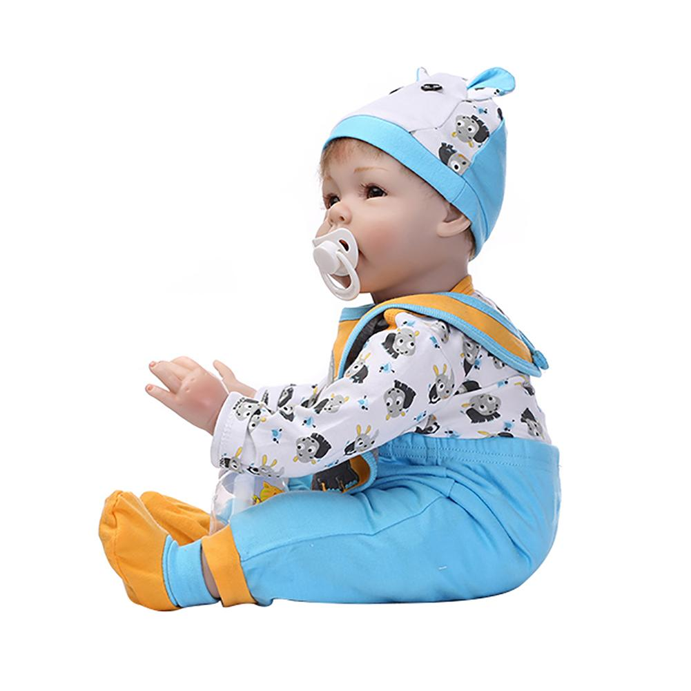 Fashion 46cm Simulation Baby Toy Soft Children Kids Newborn Reborn Doll Birthday Gift Fashion 46cm Simulation Baby Toy Soft Children Kids Newborn Reborn Doll Birthday Gift