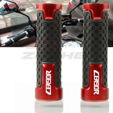 PCS 7/8 22 2MM Universal Motos Guidão Parts Antiderrapante Handle Grips Bar Para Honda CB CB190R 190R CB 190 R 2015-2018(China)