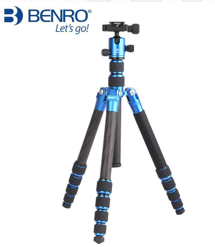 Benro nouveau MC19 fibre de carbone appareil photo reflex trépied appareil photo triangulaire costume de photographie