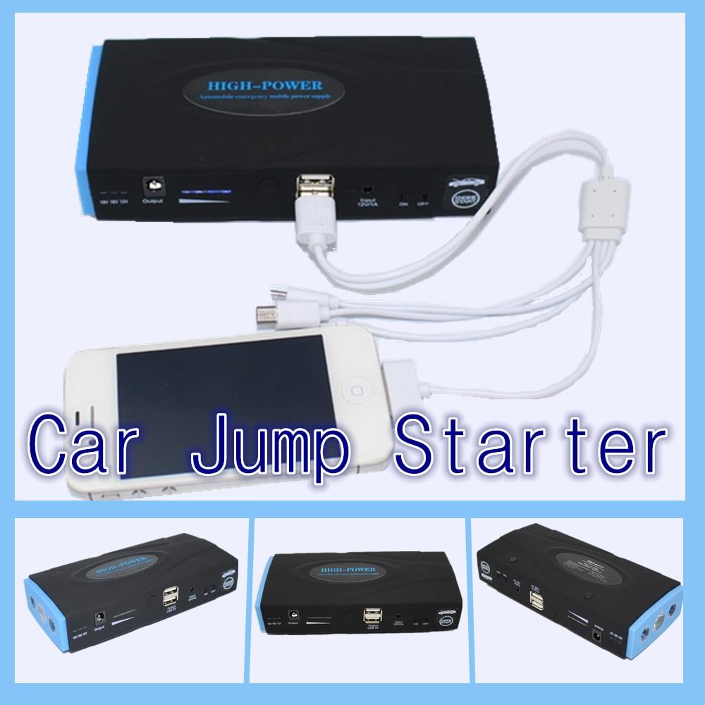 12V power bank car starting portable mini <font><b>jump</b></font> <font><b>starter</b></font> 2USB car jumper booster power <font><b>battery</b></font> charger laptop