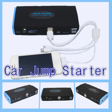 12V  power bank car starting portable mini jump starter 2USB car jumper booster power battery charger laptop