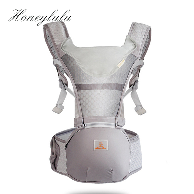 Honeylulu Summer Breathable Baby Carrier Fashion Sling For Newborns Kangaroo Backpack With Bibs Storage Bag Ergoryukzak Carrycot