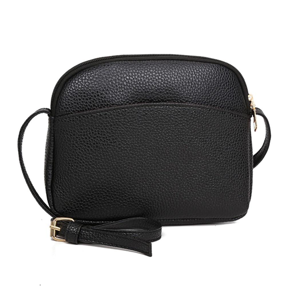 Femmes PU cuir Messenger sacs à Main coquille épaule Sac à bandoulière solide petits sacs pour femmes 2019 Sac a Main dames Sac à Main