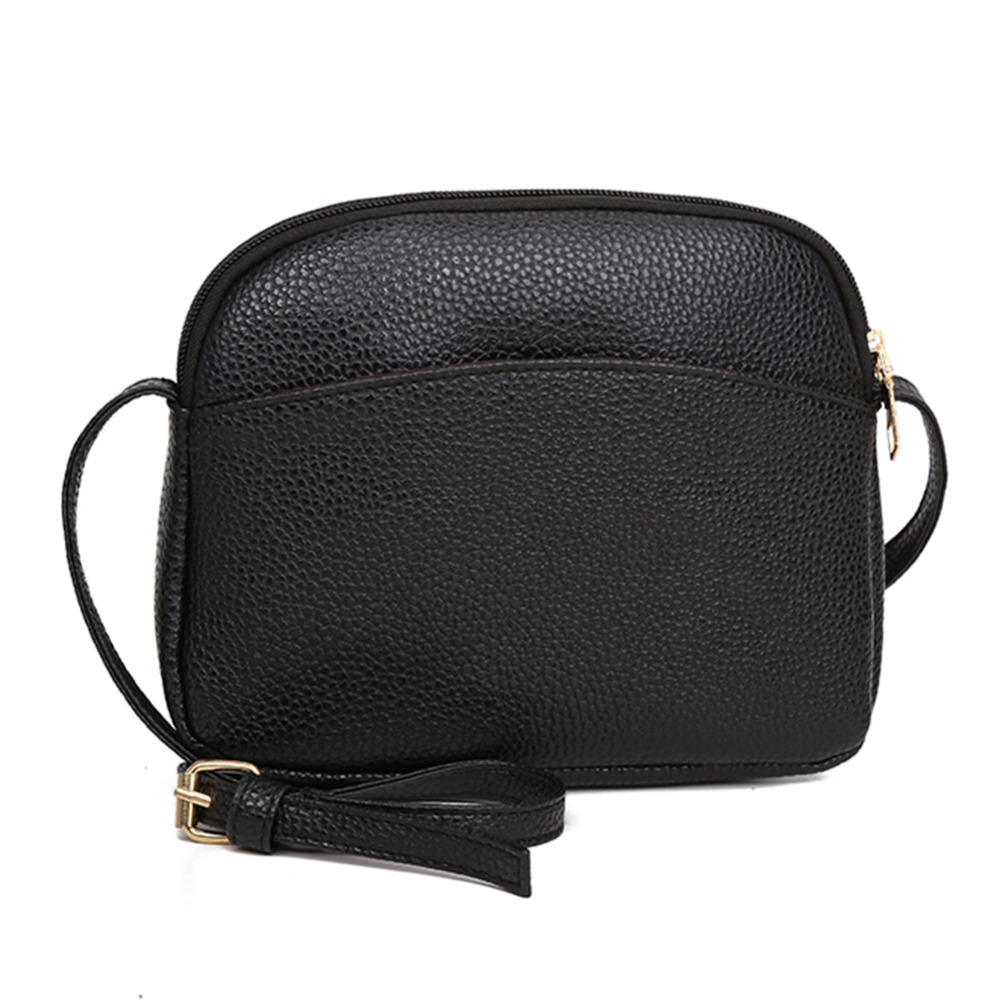 Women PU Leather Messenger Handbags Shell Shoulder Crossbody Bag Solid Small Bags for Women 2018 Sac a Main Ladies Hand Bag 2018 floral luxury handbags women bag designer pu leather bag women messenger bags small chain crossbody shoulder bag sac a main