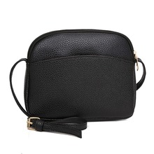 Women PU Leather Messenger Handbags Shell Shoulder Crossbody Bag Solid Small