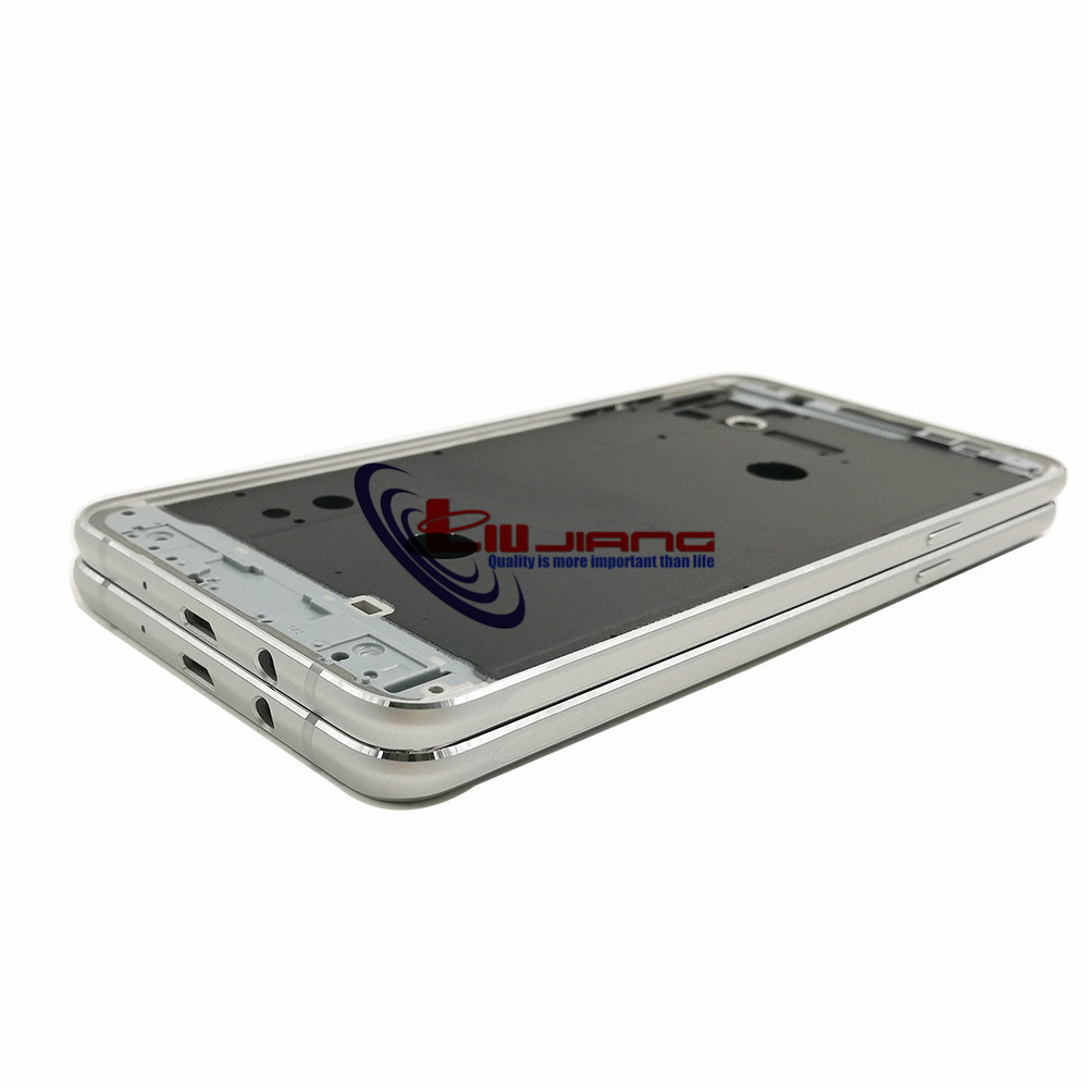 Image 4 - Original Front Frame Housing For Samsung J7 2016 J710F J7108 LCD Panel Middle Frame Bezel Case & Buttons + Adhesive-in Mobile Phone Housings & Frames from Cellphones & Telecommunications