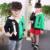 2016 Nueva Marca Otoño Invierno de Los Niños Ropa de los Bebés Ropa de Los Muchachos KidsJacket Patchwork Carta Sudadera Con Capucha Capa Del Bebé