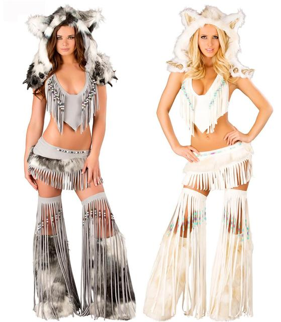 sexy Indianer Halloween Kostüm