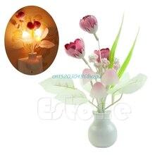 font b Night b font Light New Mini Tulip Soft Romantic Sensor Home Decor Baby
