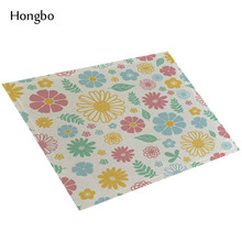 Floral Kitchen Table Mats Linen Napkin Decorative Placemats Coasters
