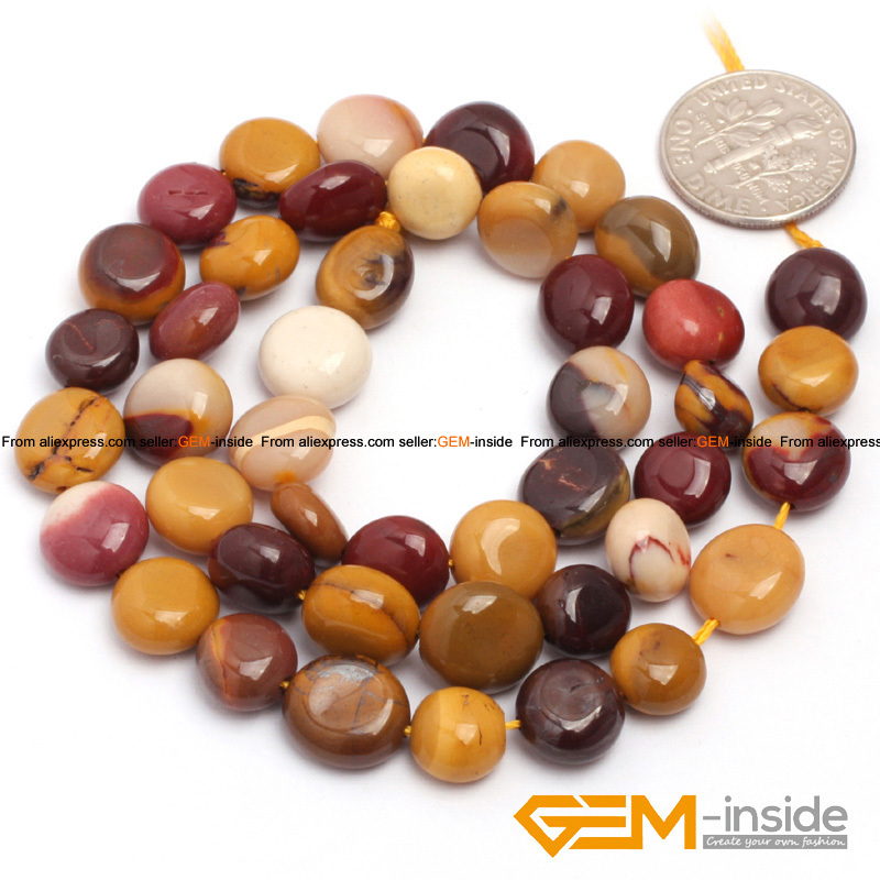 "9x12mm Freeform mookaite jasp er Beads Natural Stone Beads DIY Loose Beads For Jewelry Making Strand 15"" Wholesale !"