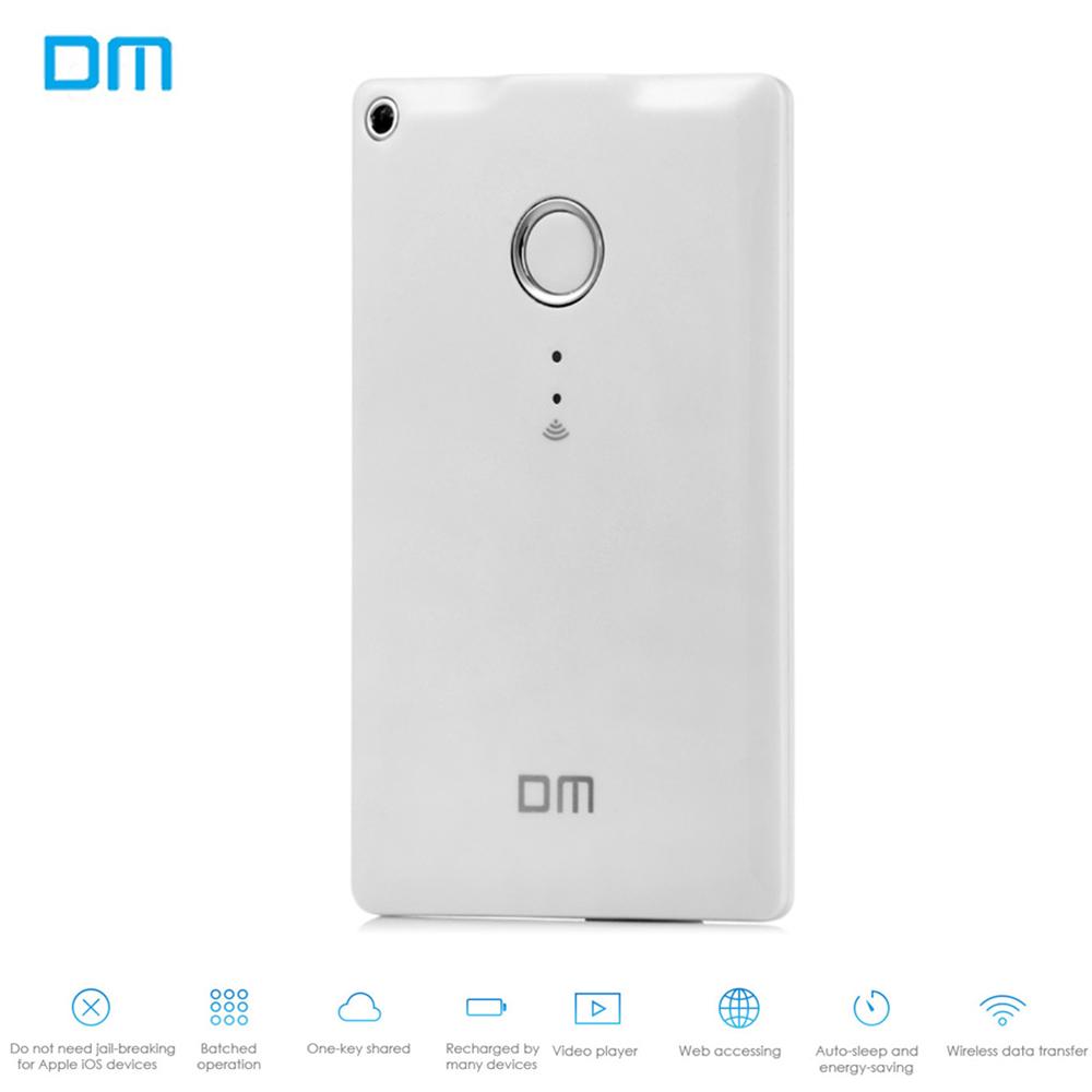 Prix pour DM WFD009 32 GB 64 GB Externe Sans Fil Étendue U Disque pour iOS Android Lecteur Flash Pen Drive pour Ordinateur Portable avec LED Voyant