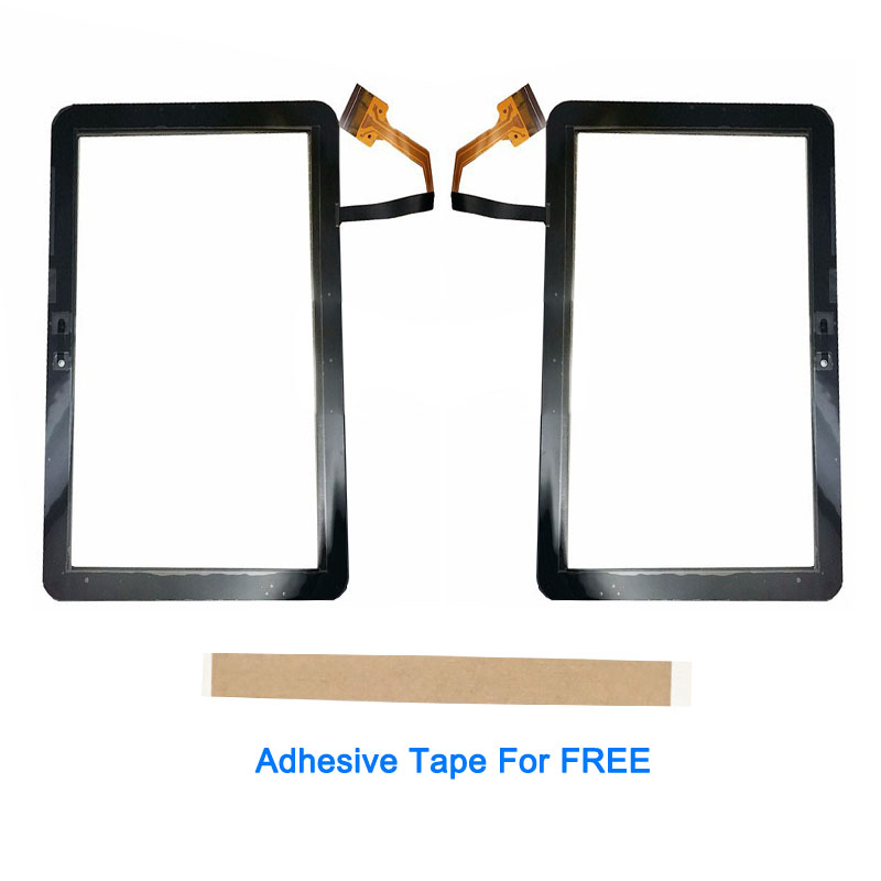 Black White Color 8.9 Inch For <font><b>Samsung</b></font> Galaxy Tab <font><b>P7300</b></font> Touch <font><b>Screen</b></font> Glass Lens Digitizer Front Glass Sensor With Adhesive Tape image