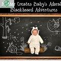 60x200 см Chalk Board доска Наклейки Съемный Винил Нарисовать Росписи Декора Искусство Этикет Доске Стикер Стены Для Детей номера