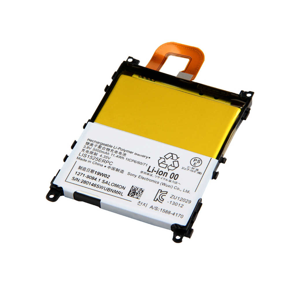 High Quality Rechargeable For Sony L39h Xperia Z1 SO-01F C6902 C6903 LIS1525ERPC Phone Battery 3000mAh