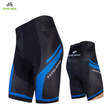 ZERO BIKE 2017New Outdoor Quick Dry Cycling Shorts 4D GEL Padded MTB Bike Sports Tight Shorts Bermuda ciclismo M-XXL(China)