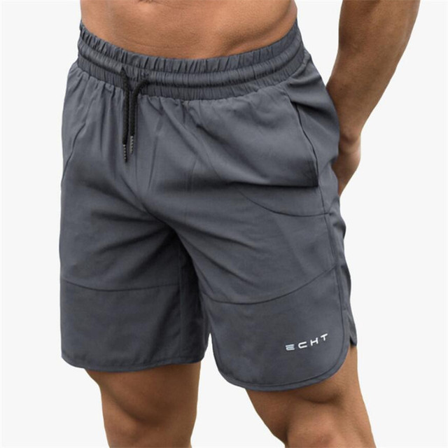 Calf-Length Fitness Bodybuilding Fashion Casual Short Pants  2