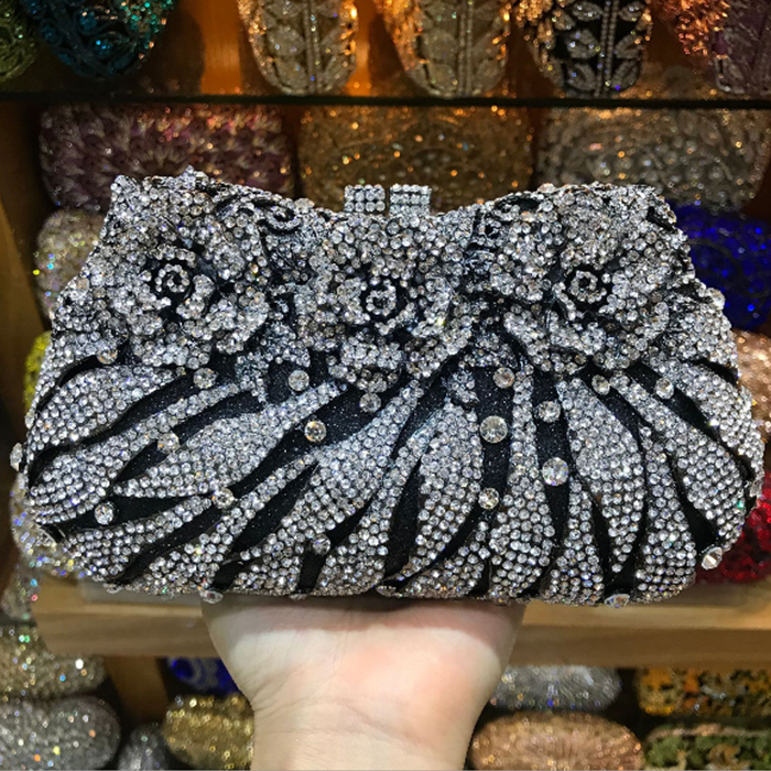 XIYUAN BRAND Woman Evening shoulder bag Women Diamond Rhinestone Clutch Crystal Day Clutch Wallet Wedding Purse Party Banquet woman evening bag women diamond rhinestone clutches crystal day clutch wallet wedding purse party banquet evening bags classic