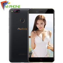 Original ZTE Nubia Z17 mini 5.2″ 4GB RAM 64GB ROM Mobile Phone Snapdragon 652 Octa Core Dual Rear Camera 13MP Android NFC Phone