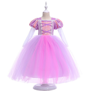 Cloud Flower Girl Dresses Pink Rose Baby Puffy Ball Gown 2018 Flower Girl Dress Plus Size Custom Made