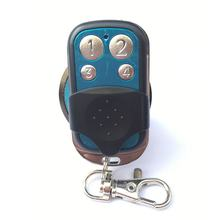 Portable Wireless 4333.92 Mhz Remote Control Copy Code Remote 4 Channel Electric Cloning Gate Garage Door Auto Keychain(China)