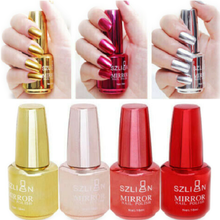 2019 Metallic Mirror Nail Polish Magic Effect Chrome Art Varnish Exquisite 18ml Dropshipping
