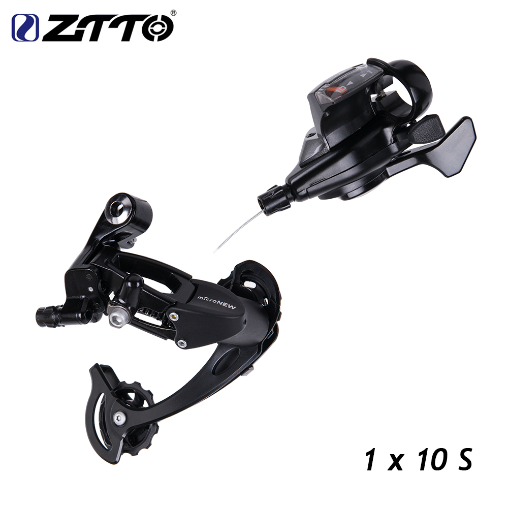 Bicycle MTB R70 1X10 10Speed Rear Shifter Derailleur Groupset for Shimano m610 m670 x5 x7 single crankset chainset 10s system bicycle mtb 3x10 30 speed front rear shifter derailleur groupset for shimano m610 m670 m780 system