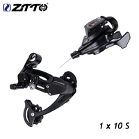 ZTTO Bicycle MTB R70 1X10 10Speed Rear Shifter Derailleur Groupset for parts m610 m670 x5 x7 single crankset chainset 10s system